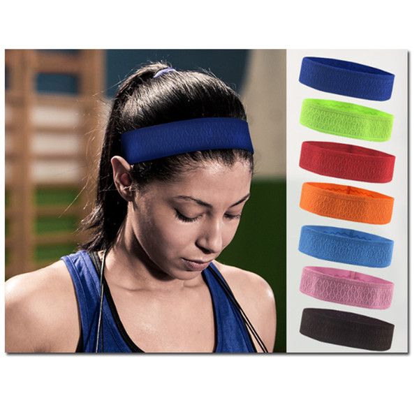 Headbands Athletic Athletic Headband Antiderrapante, Elastic Fashion Faixa de cabelo para homensMulheres. Perfeito para Workouts Yoga Running Bandana Basquete o
