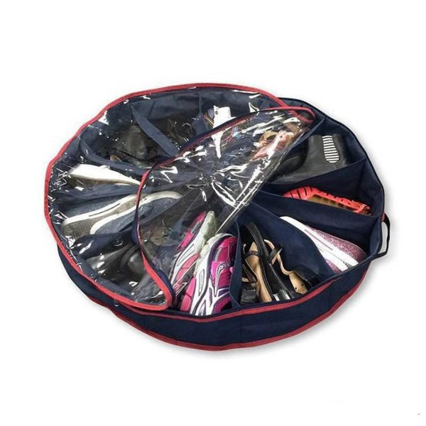 Shoe Practical Bags 12 Grid Foldable Oversize Closet Organizer Non Woven Space Saving Shoes Storage Bag Reusable Design 13 5ry ZZ