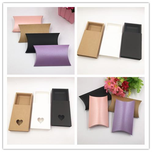 Kraft Paper Handmade Drawer Gift Boxes,DIY Packing Box/Packing Case For Candy\Cake\Jewelry\Gift\chocolate Macarons Packing Brown Paper box