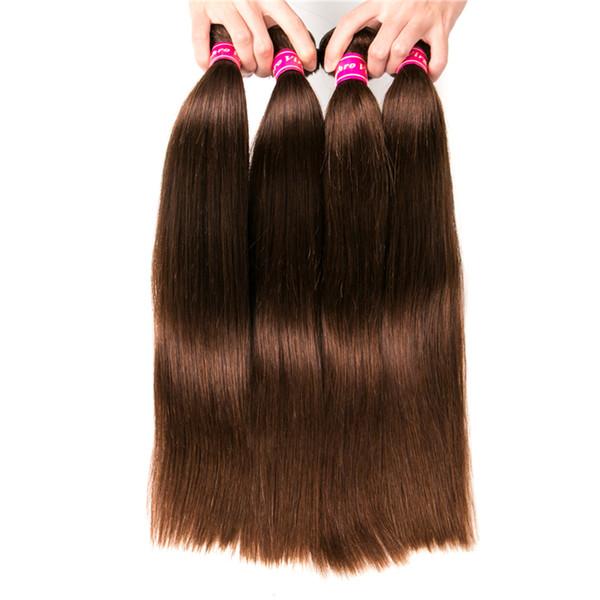 8A Brezilyalı İnsan Saç Toplu Saç Uzantıları Için Ipeksi Düz 8-28 inç Brezilyalı Örgü Saç Atkı Düz