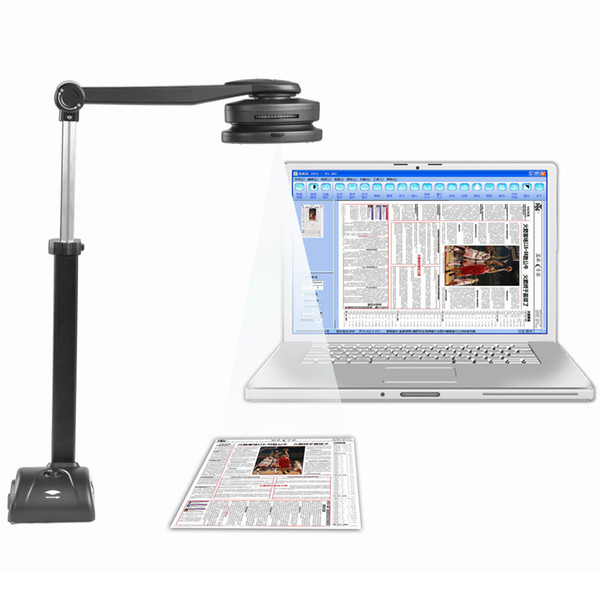 S500A3B High Speed Portable Document Scanner with 5MP Camera & A3/A4 Size Scanning & 10 languages Optical CharaOptical Character Recogition)