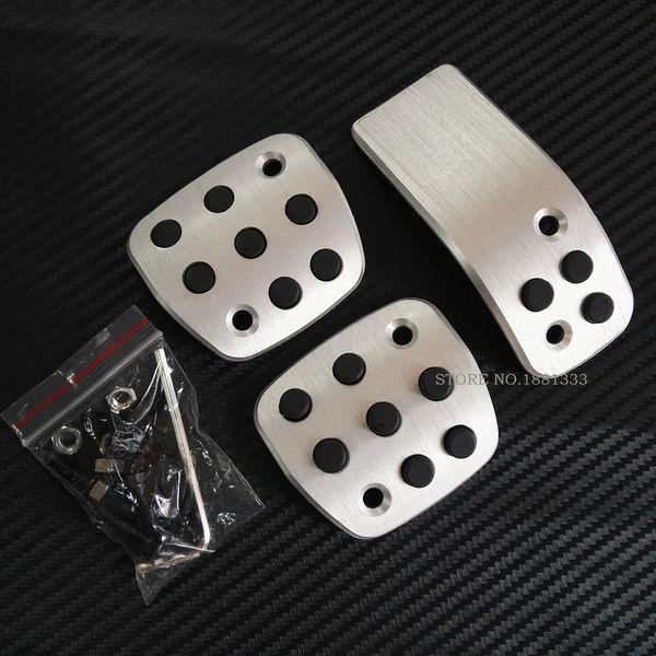 TTCR-II Car Accessories Accelerator Brake Clutck Pedal For Peugeot 206 CC 206CC Manual MT STD Sticker Styling Plate Pad STD
