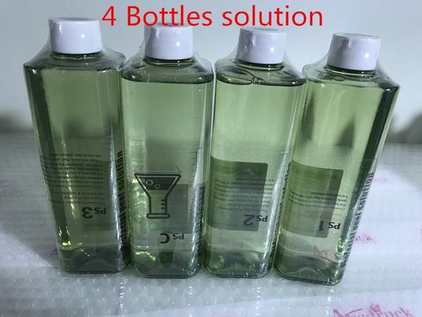 4 şişe çözeltisi