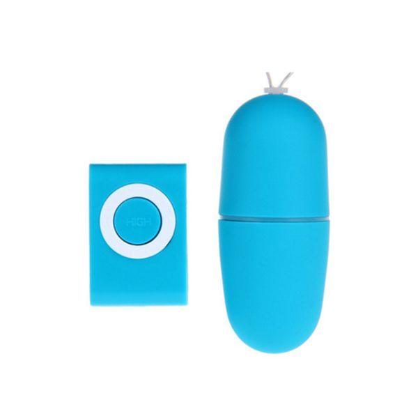 Oeuf vibrant sans fil 2019 MP3 à distance 20 modes Télécommande Bullet Vibrateur Vibrateur sexuel Adult Sex Toys 1 * MP3 + 1 * œuf vibrant couleur
