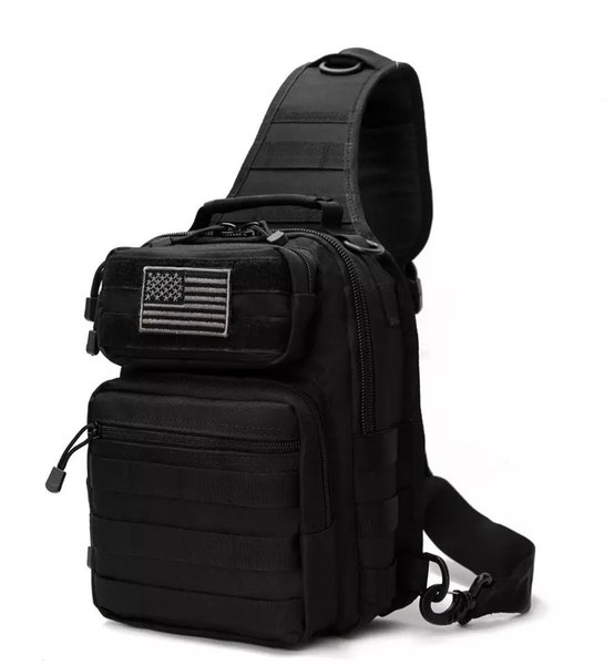 Outdoor Tactical Sling Backpack,Military Daypack Shoulder Backpack for Camping,Hiking,Trekking,Rover Sling Pack Chest Pack