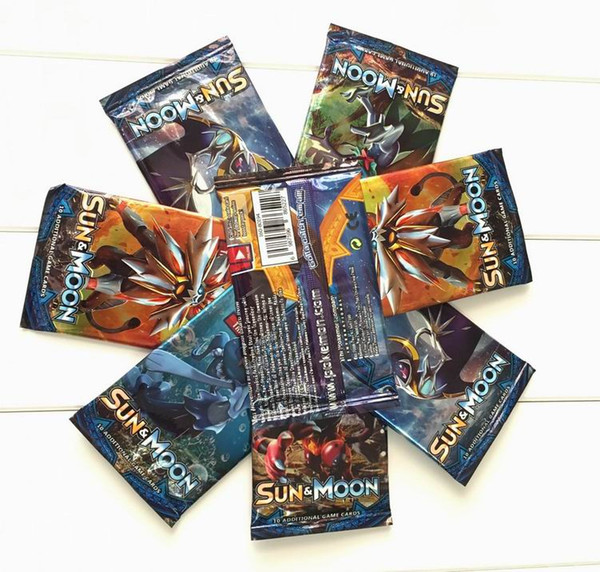 Poket Monster Playing Trading Cards Games 4 Styles English Edition Anime Pocket Monsters Cards Kids Toys 324pcs/lot