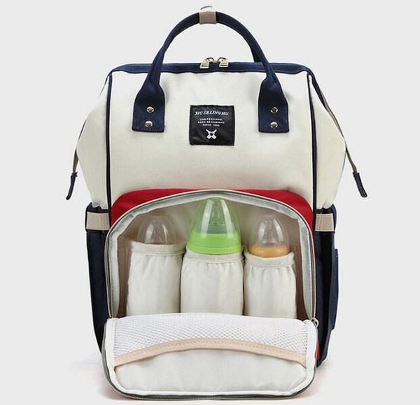 Nappy Bags Big Capacity Baby Diaper Bag Waterproof Baby Care Nappy Changing Bag Fashion Mother Backpack for Travel
