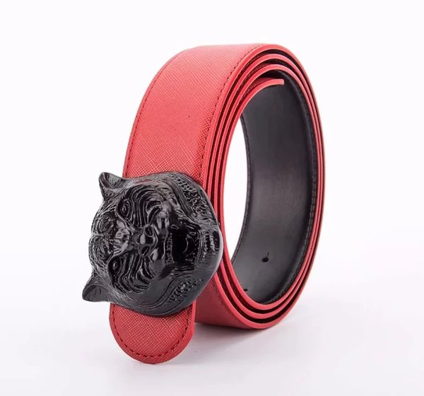 Red with black buckle