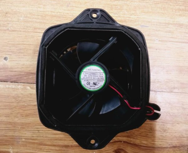top popular The original CD9225HH12SA 12V 0.50A dryer machine frequency converter cooling fan 2021