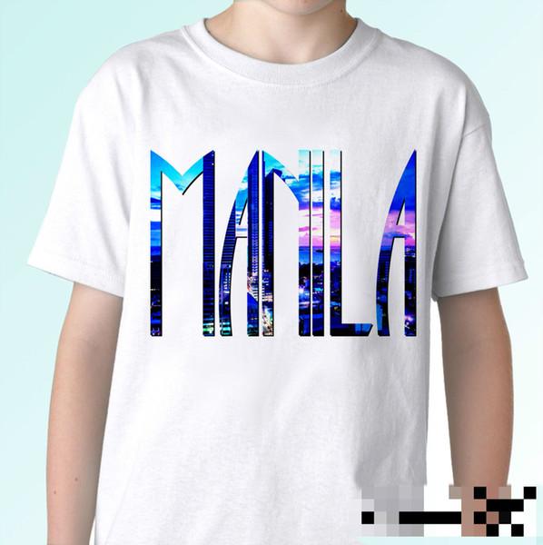 Manila - t shirt flag top Philippines tee design mens, womens, kids baby sizes Design T Shirt Men'S High Quality Cartoon
