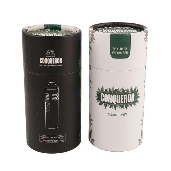 2018 Новый Завоеватель сухой травы испаритель стартовый комплект 2200 мАч батареи e-cigs Vape Vapor Pen Box Mod DHL доставка 0209681