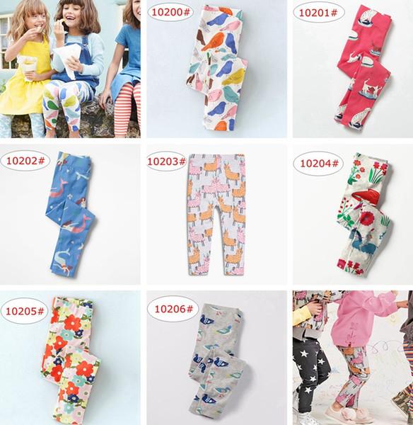 INS Mermaid Unicorn Print Girls Leggings New Baby Leggings for Girls Pants 100% Cotton Character Print Children Trousers Skinny Pants 2-7Y