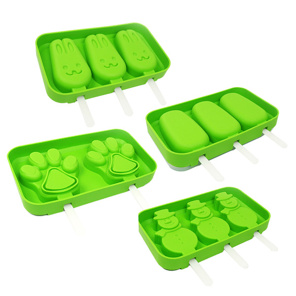 Domeilleur Bandeja de Cubitos de Hielo de Silicona 37 Grid DIY Pudding Jelly Maker con Tapa para Barra de Cocina