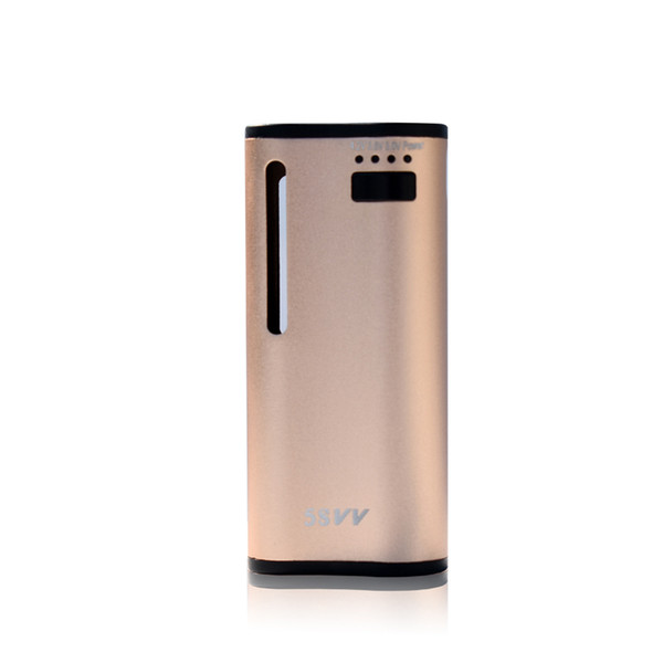 2018 New 5S VV Vape Mod USA 650Mah Preheat Variable Voltage Battery For Upgraded Wax Thick Oil E Cigarette Box Mod For Sale