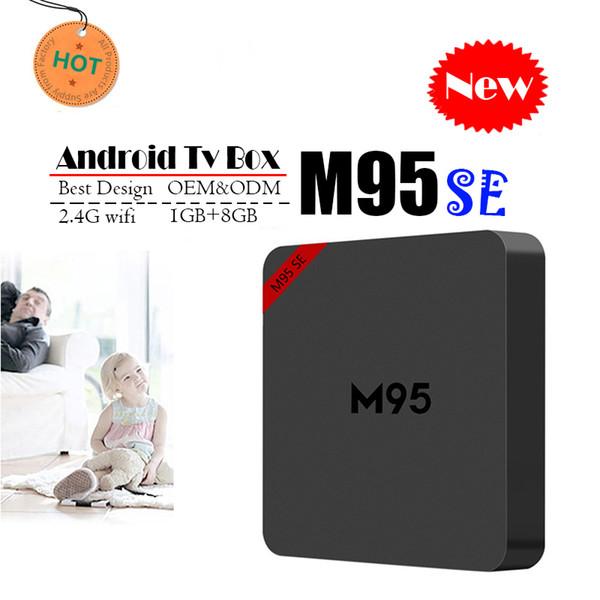 Best M95 SE Allwinner H3 1G 8G Android 7.1 TV BOX Quad Core Ultra HD H.265 4K Stream Media Player Better Amlogic S905W TX3 X96 mini T95Z M9S