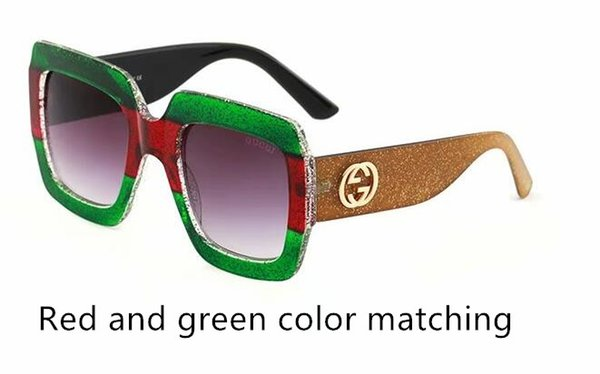 2018 quality big-name fashion color cool sunglasses designer brand men and women sunglasses glasses various colors