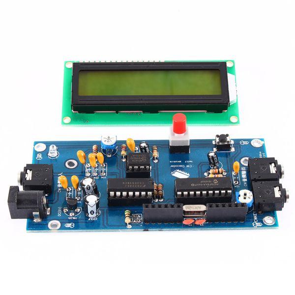 best selling Freeshipping Ham Radio Essential CW Decoder Morse Code Reader Morse Code Translator Ham Radio Accessory DC7-12V 500mA