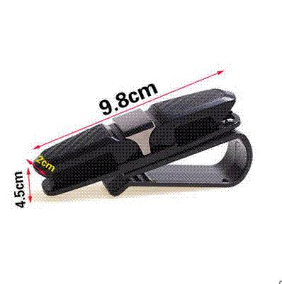 FLYJ ABS Sunglasses Car Eyeglass Holder Smart Fortwo Forfour Card Ticket Pen Clip Auto Accessories Cars Glass Holder Accessories