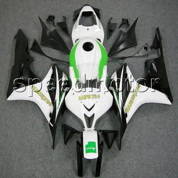 colors+Gifts Injection mold green black white motorcycle cowl Fairing for HONDA 2007 2008 CBR600RR F5 07-08 ABS plastic kit