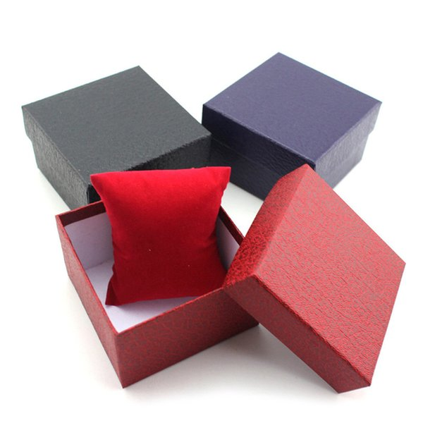 Regalo perfecto caja de regalo presente durable caja para la pulsera brazalete caja de reloj caja levert dropship Jan9-17 H0