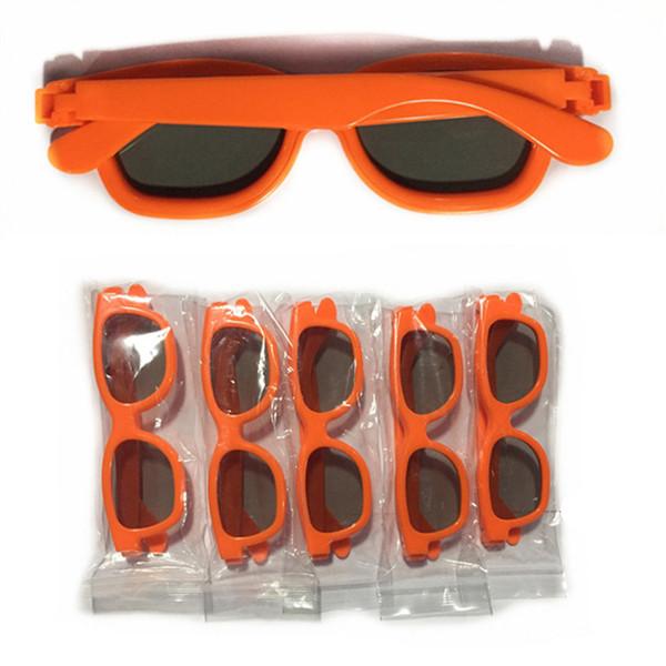 Çocuklar için sinema gözlük Malzeme ABS 3D polarize stereo gözlük çocuk polarize gözlük toptan 3D flaş toptan toptan 129