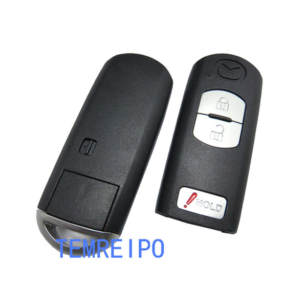 2+1 Buttons Replacement Shell Remote Key Case Fob For Mazda M3 5 6 CX-7 CX-9