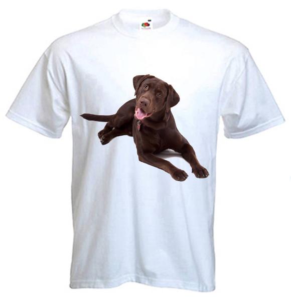 Détails zu T-SHIRT CHOCOLATE LABRADOR CHIEN - Lab Retriever Dogs Pet - Tailles S à 3XL Drôle expédition gratuite tee unisexe