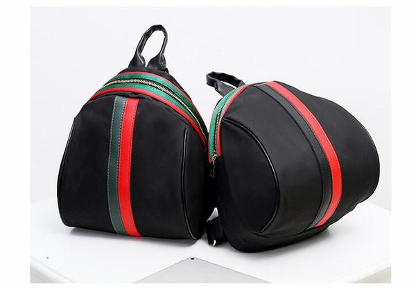 shark high quality stripe nylon printing shoulder bag pupil bag justin bieber Y3 Back pack men women Travelling bag
