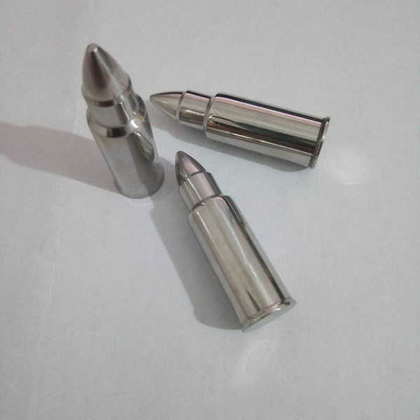 best selling Bullet Shape StainlessSteel Whisky Stones, Metal Ice Stones, Whiskey Cooler Rocks,Home and Wedding Gifts
