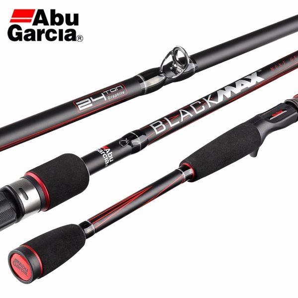 Original Abu Garcia Black Max BMAX Baitcasting Lure Fishing Rod 1.98m 2.13m M Power Carbon Spinning Fishing Stick