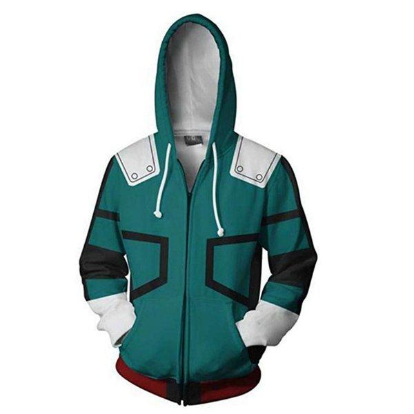 Zipper Coat Green