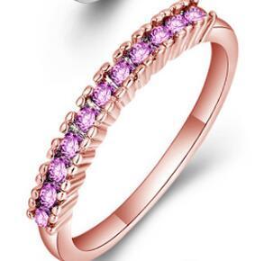 Розовое золото Розовый кристалл