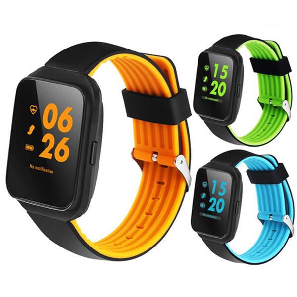 Z40 Bluetooth Akıllı Saatler Kan Basıncı Nabız Lüks Erkekler iPhone Android Samsung için Akıllı Bilezik Saat Pedometre