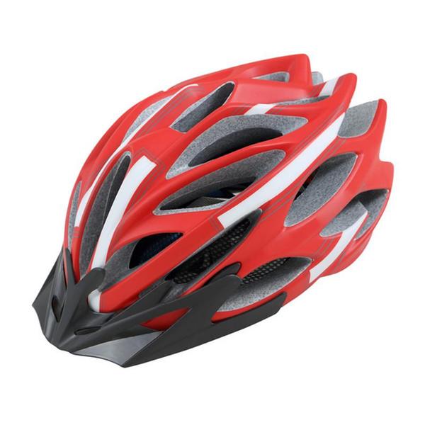 Durable Ciclismo Capacete Vents Ultralight EPS Ciclismo Casco Deportes al aire libre MTB / Carretera Bicicleta de montaña Casco de bicicleta Carrera