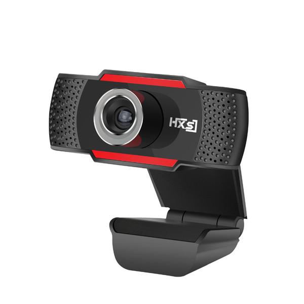HXSJ S30 USB Mini Web Camera 720P HD 1MP USB Laptop Webcam Mini For Notebook Built in Sound absorbing Microphone 1280 * 720