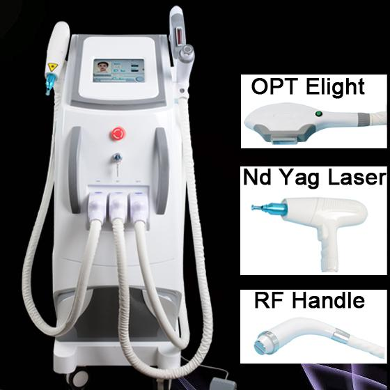 factory price professional OPT IPL machine permanent diode laser hair removal ND YAG Laser tattoo removal machine CE approved