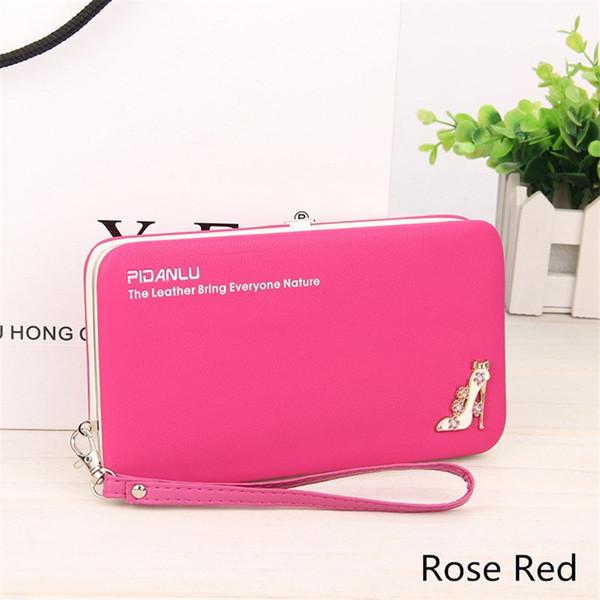 2019 Baellerry multi-function mobile phone bag lunch box bag ladies wallet long pencil case purse eight colors