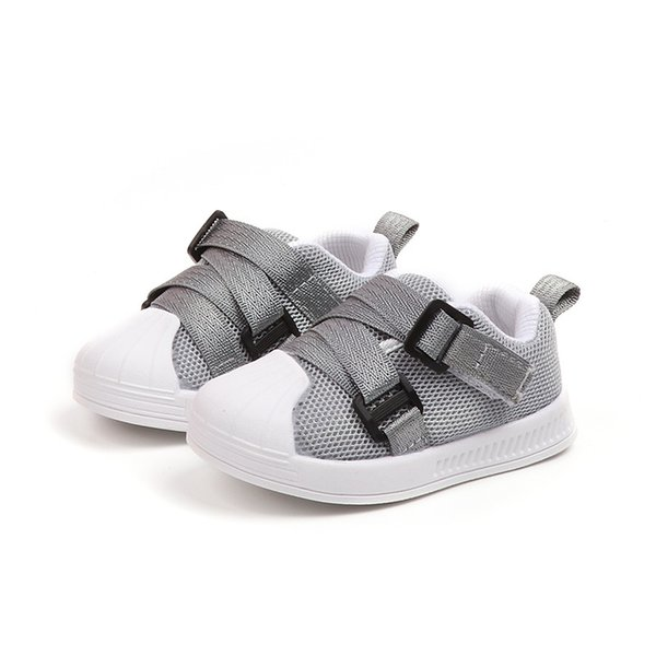 2018 European New brand fashion lace up baby shoes unisex lace up solid girls boys shoes waterproof lovely baby casual sneakers
