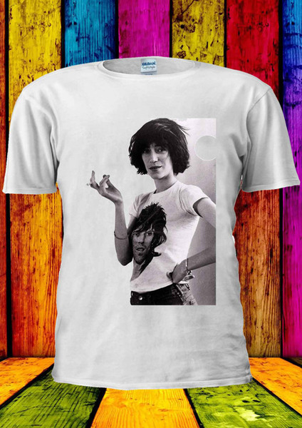 Patti Smith 70's 80's 90's Punk Patty T-shirt Vest Tank Top Men Women Unisex 165 Funny free shipping Unisex Casual gift