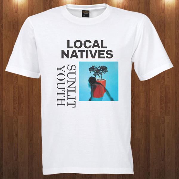 Cheap Mens Graphic T Shirts Local Natives S M L Xl 2Xl 3Xl 4Xl Short Men Crew Neck Printed Tee