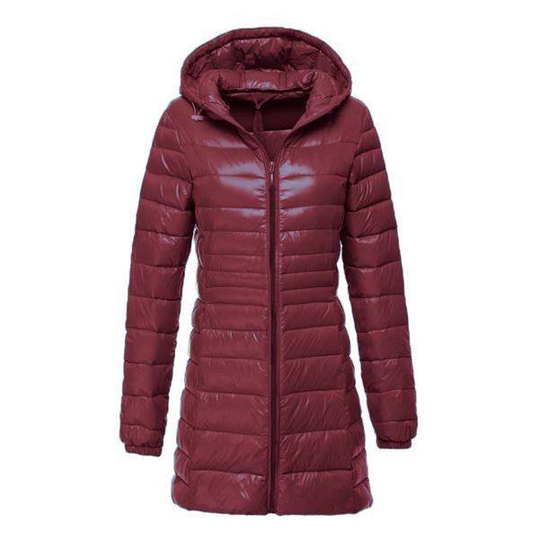 Damen 6XL Ente Parka Winter Kapuze Beiläufige Neue Lange Mantel Weiße Daunenjacke Frauen Mit Großhandel Herbst Daunenjacke Ultraleicht Weibliche Warme n0w8OPXk