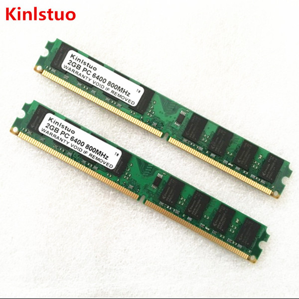 ddr2 1 Kinlstuo DDR2 1 2 4GB 800MHz 667MHz memory for Desktop RAM (INTEL & AMD) System High Compatible