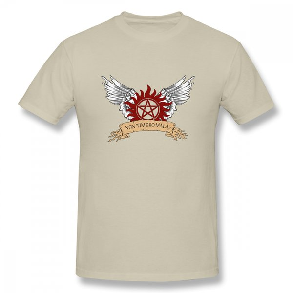 Supernatural Wings Round Neck Slim T-Shirt