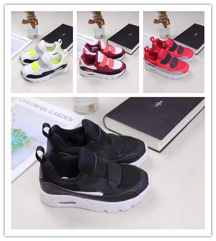 Großhandel Nike Air Max Airmax 90 HOT Kinder Turnschuhe Presto 90 II Schuh Kinder Sport Orthopädische Jugend Kinder Turnschuhe Infant Mädchen Jungen
