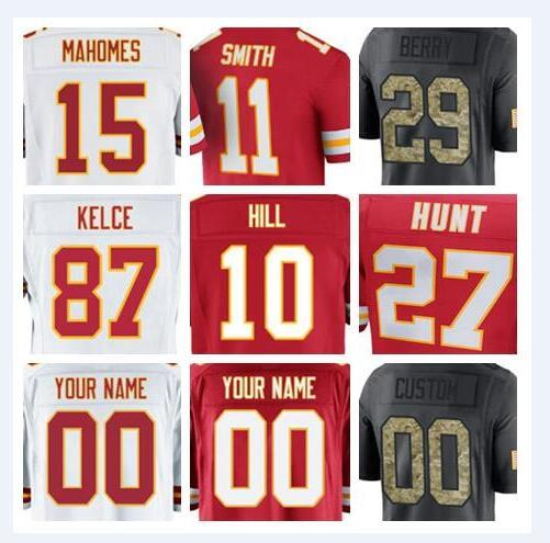 cheaper 831d1 65338 2018 2018 Kansas City Tyreek Hill Chiefs Jersey Eric Berry Travis Kelce  Soccer Rugby College Retro Rugby American Football Jerseys Stitched Cheap  From ...