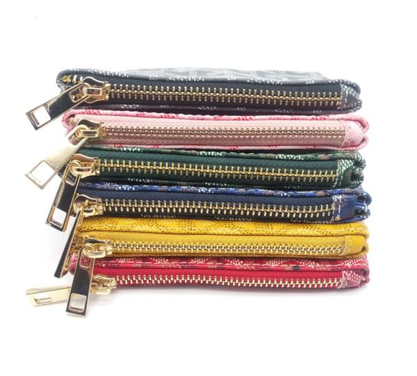 France style Designer coin pouch men women lady Luxury gy coin purse key wallet mini wallet