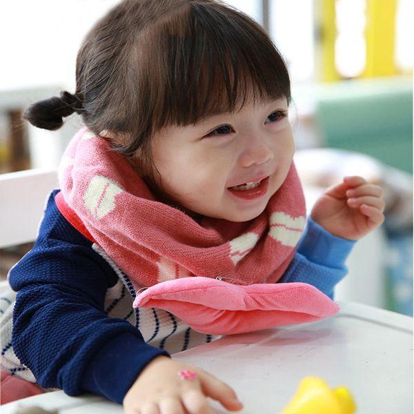 Meilleure vente Nouveau 1 pc Bon Merveilleux Mignon Hiver Chaud Sacrves Enfants Lèvres Imprimer Collier Col Foulards vêtements accessoires