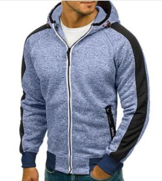 2018 Rahat Hırka Erkekler Hoodie Kazak Uzun Kollu Slim Fit Erkek Fermuar Hoodies Assassins Creed Ceket Artı Boyutu S-3XL