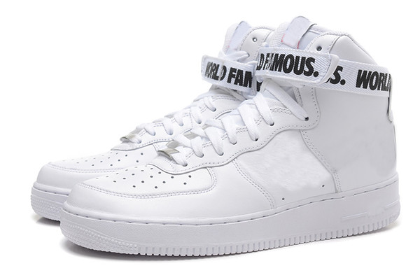 Air force 1 mid hombres zapatillas blanco naranja vendo