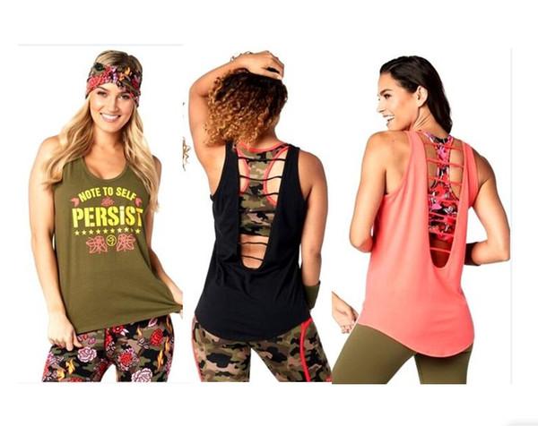 Novo arrivel aptidão exercício bodybuilding tops colete colete mulheres roupas esporte exercício top T1529